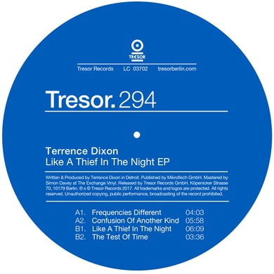Terrence Dixon LIKE A THIEF IN THE NIGHT Vinyl Record