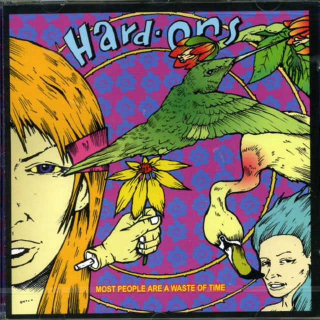 Hard-Ons MOST PEOPLE ARE A WASTE OF TIME CD