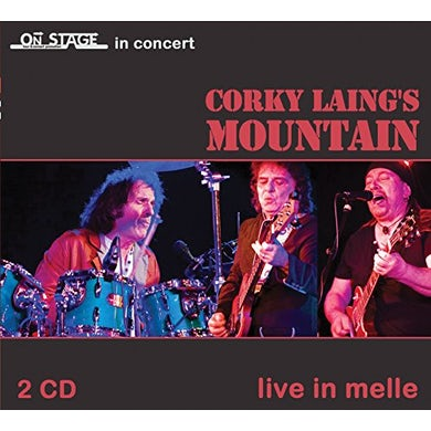 Corky Laing'S Mountain LIVE IN MELLE CD