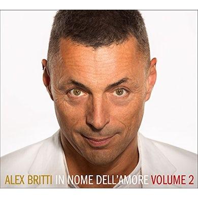Alex Britti IN NOME DELL'AMORE: VOLUME 2 CD
