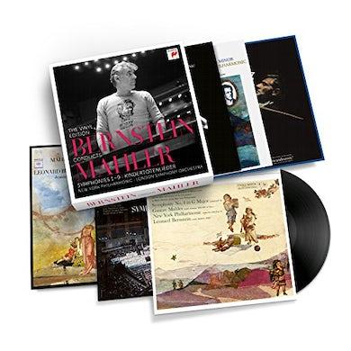 Leonard Bernstein CONDUCTS MAHLER Vinyl Record