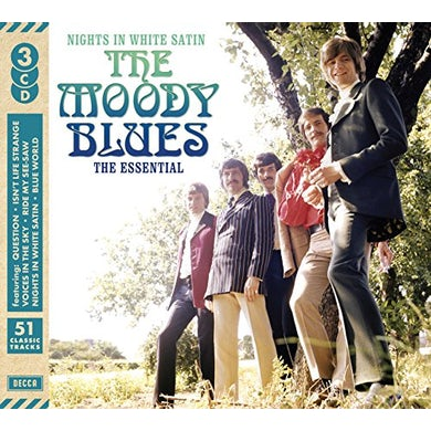 NIGHTS IN WHITE SATIN: ESSENTIAL The Moody Blues CD