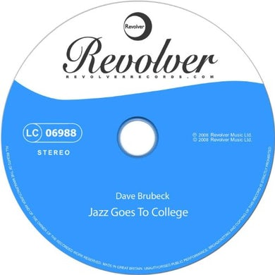 Dave Brubeck JAZZ GOES TO JUNIOR COLLEGE Vinyl Record - Limited Edition, 180 Gram Pressing, Holland Release