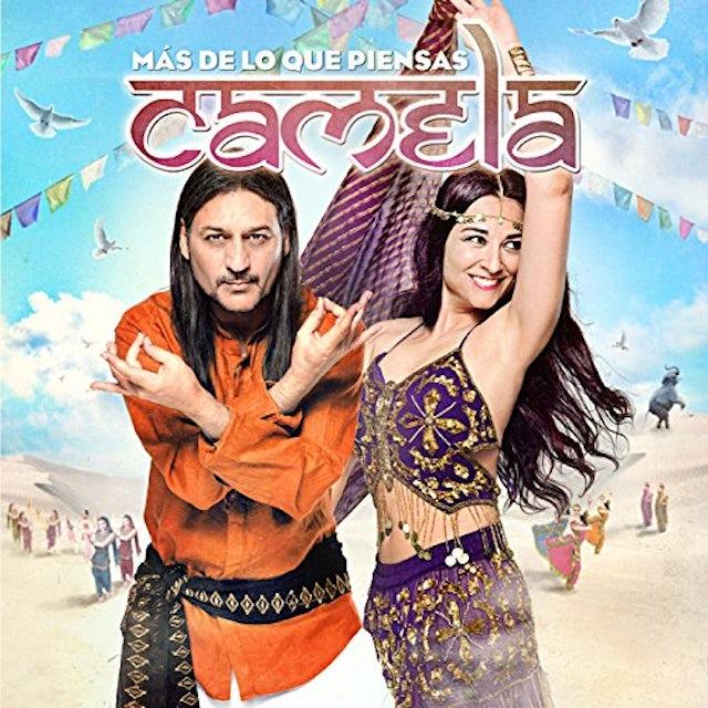 Camela MAS DE LO QUE PIENSAS JEWEL CD