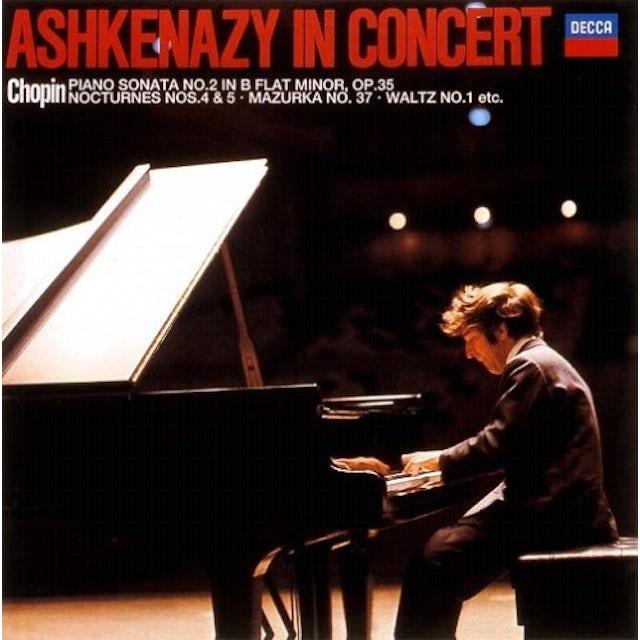Vladimir Ashkenazy ASHKENAZY / CHOPIN LIVE CD