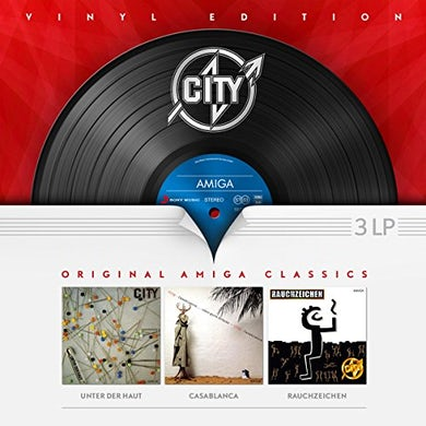 CITY VINYL EDITION (AMIGA LP BOX) Vinyl Record