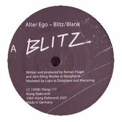 Alter Ego  BLITZ / BLANK Vinyl Record