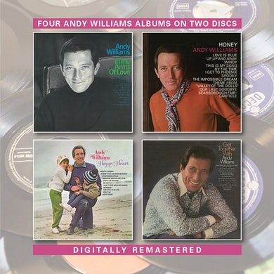 Andy Williams IN THE ARMS OF LOVE / HONEY / GET TOGETHER WITH CD