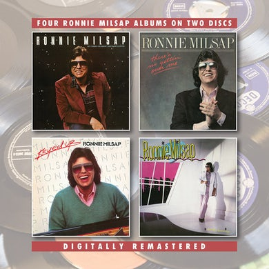 Ronnie Milsap OUT WHERE THE BRIGHT LIGHTS ARE GLOWING / THERE'S CD