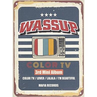 WA$$UP COLOR TV CD
