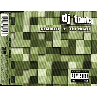 DJ Tonka SECURITY (CATZ 'N DOGZ 2016 EDIT) Vinyl Record