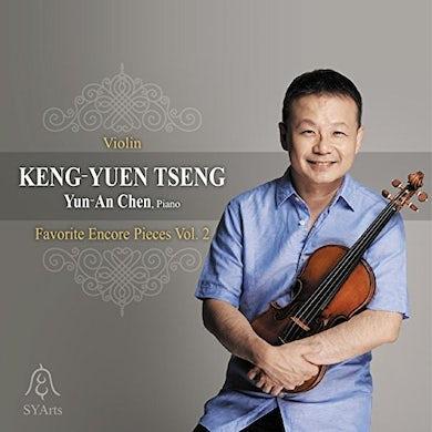 Keng-Yuen Tseng FAVORITE ENCORE PIECES 2 CD