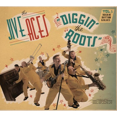 Jive Aces DIGGIN THE ROOTS 1 CD