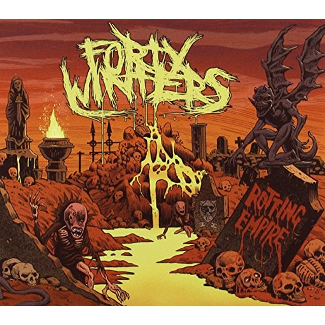 Forty Winters ROTTING EMPIRE CD