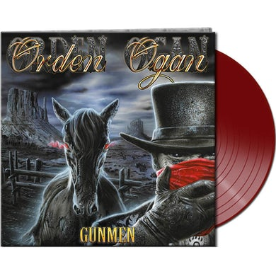Orden Ogan GUNMEN (RED VINYL) Vinyl Record