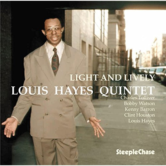 Louis Hayes LIGHT & LIVELY CD