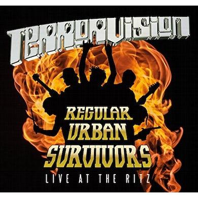 Terrorvision REGULAR URBAN SURVIVORS LIVE CD