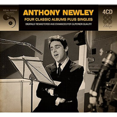 Anthony Newley 4 CLASSIC ALBUMS PLUS SINGLES CD
