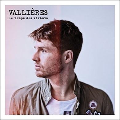 Vincent Vallieres LE TEMPS DES VIVANTS Vinyl Record