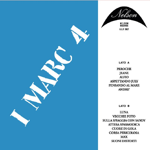 I Marc 4 G.L.P. 1007 / Original Soundtrack Vinyl Record