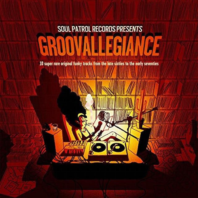 Groovallegiance: 10 Super Rare Original / Various Vinyl Record