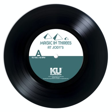 Magic In Threes AT JODY'S / A BREEZY DAY Vinyl Record