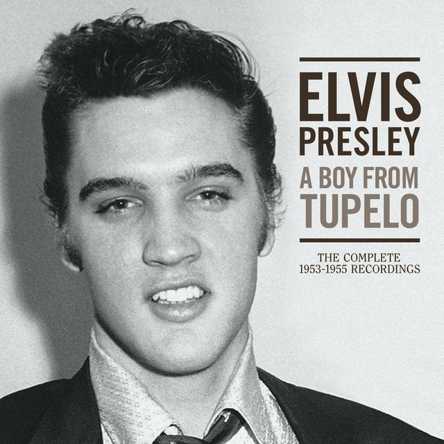 Elvis Presley BOY FROM TUPELO: THE COMPLETE 1953-1955 RECORDINGS CD
