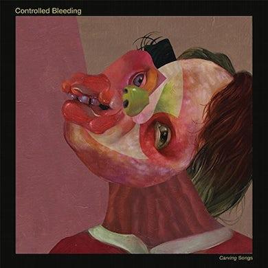 Controlled Bleeding CARVINGSONGS (GREEN VINYL) Vinyl Record