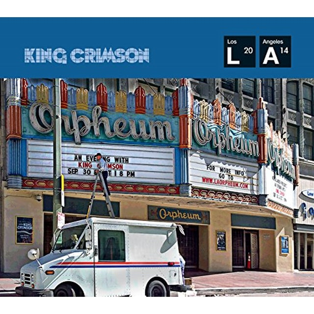 King Crimson LIVE AT THE ORPHEUM Vinyl Record