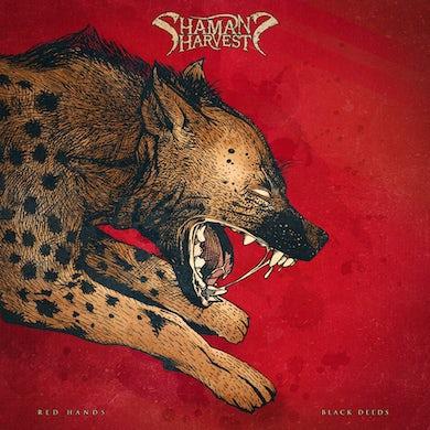 Shaman's Harvest Red Hands Black Deeds (Red) Vinyl Record