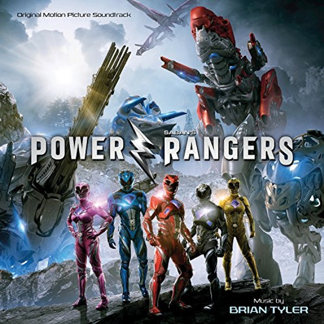 Brian Tyler POWER RANGERS (SCORE) / Original Soundtrack Vinyl Record