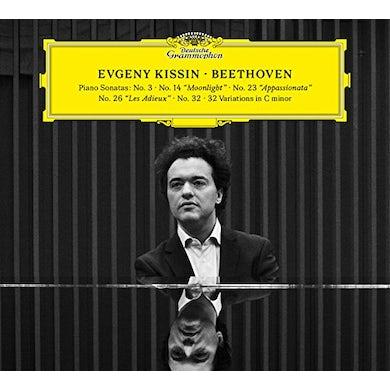 Evgeny Kissin BEETHOVEN RECITAL CD