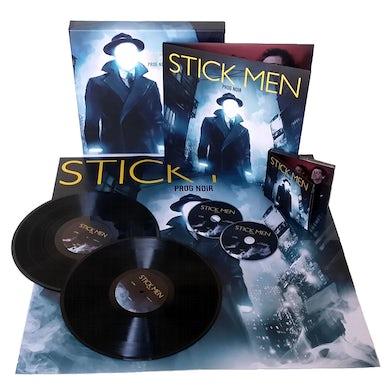 Stick Men PROG NOIR: DELUXE EDITION Vinyl Record