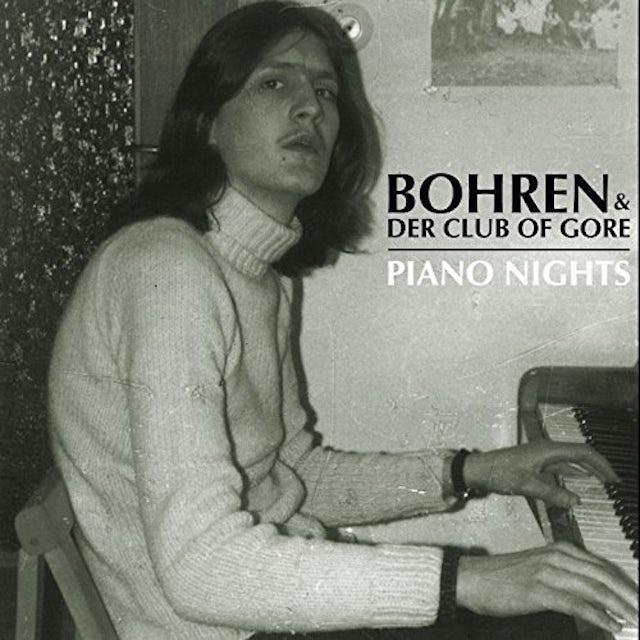 Bohren & Der Club Of Gore PIANO NIGHTS Vinyl Record