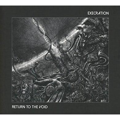 EXECRATION RETURN TO THE VOID Vinyl Record