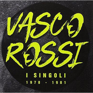 Vasco Rossi I SINGOLI DAL 1978 AL 1981: BOX Vinyl Record