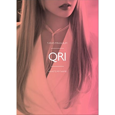 T-ara WHAT'S MY NAME? - QRI VERSION CD