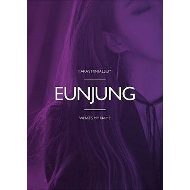 T-ara WHAT'S MY NAME? - EUNJUNG VERSION CD