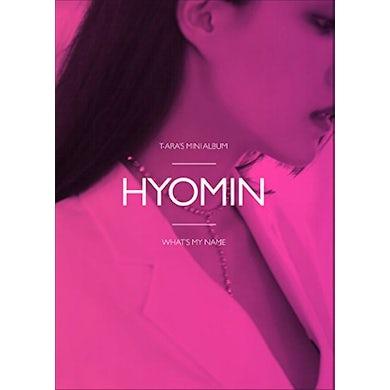 T-ara WHAT'S MY NAME? - HYOMIN VERSION CD