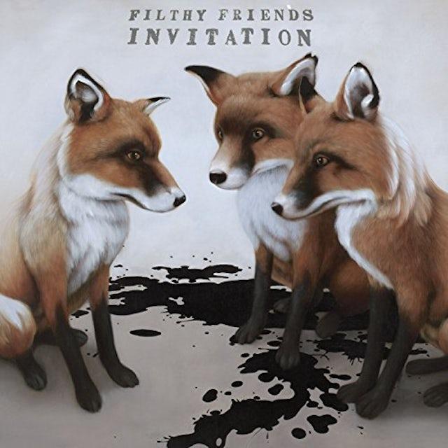 Filthy Friends INVITATION CD