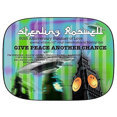 Sterling Roswell GIVE PEACE ANOTHER CHANCE (REMIX) Vinyl Record