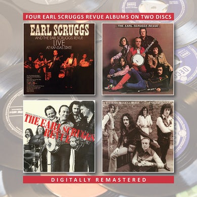 LIVE AT KANSAS STATE / EARL SCRUGGS REVUE / ROCKIN CD