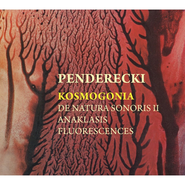 Krzysztof Penderecki KOSMOGONIA CD