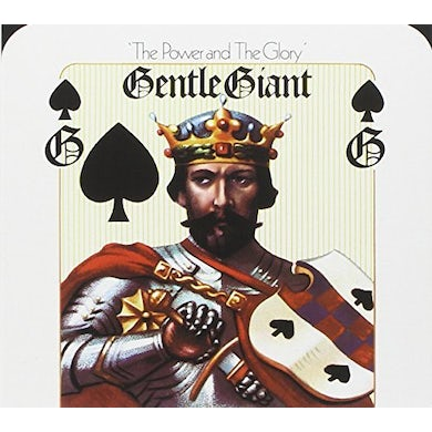 Gentle Giant POWER & GLORY (MIXED BY STEVEN WILSON) CD
