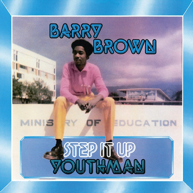 Barry Brown STEP IT UP YOUTHMAN Vinyl Record