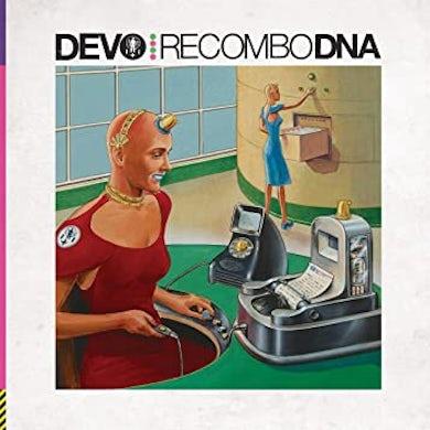 Devo RECOMBO DNA (MOLECULAR MUTATION COLOR VINYL) Vinyl Record