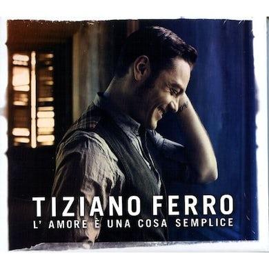 Ferro Tiziano L'AMORE E UNA COSA SEMPLICE CD