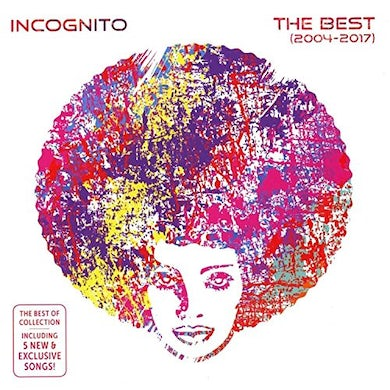 Incognito BEST OF 2017 CD