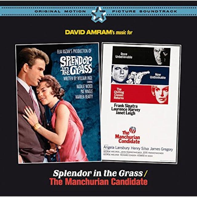 David Amram SPLENDOR IN THE GRASS / MANCHURIAN CANDIDATE + 16 CD