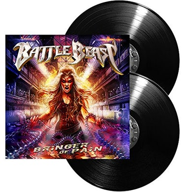 Battle Beast BRINGER OF PAIN Vinyl Record